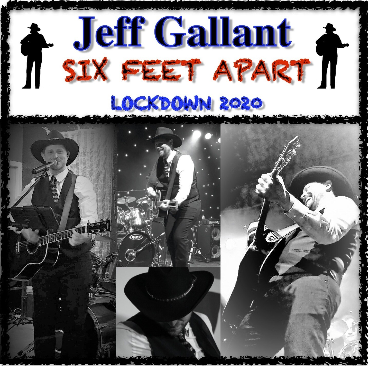 CD - SIX FEET APART LOCKDOWN 2020