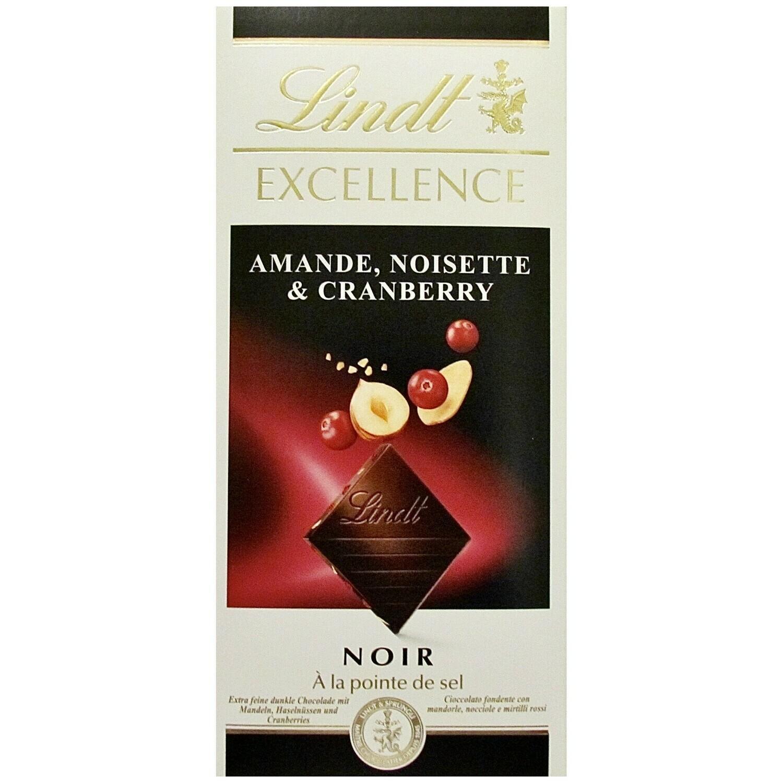 Lindt - Excellence - Cranberry - 100g