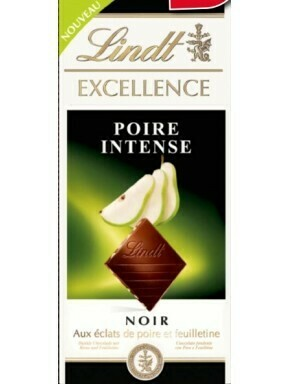 Lindt - Excellence - Poire Intense- 100g