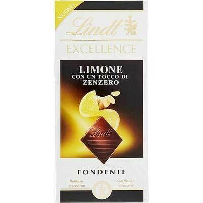 Lindt - Excellence - Limone e Zenzero - 100g