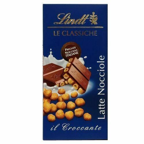 Lindt - Tavoletta Le Classiche - Latte Nocciole - Gr. 100
