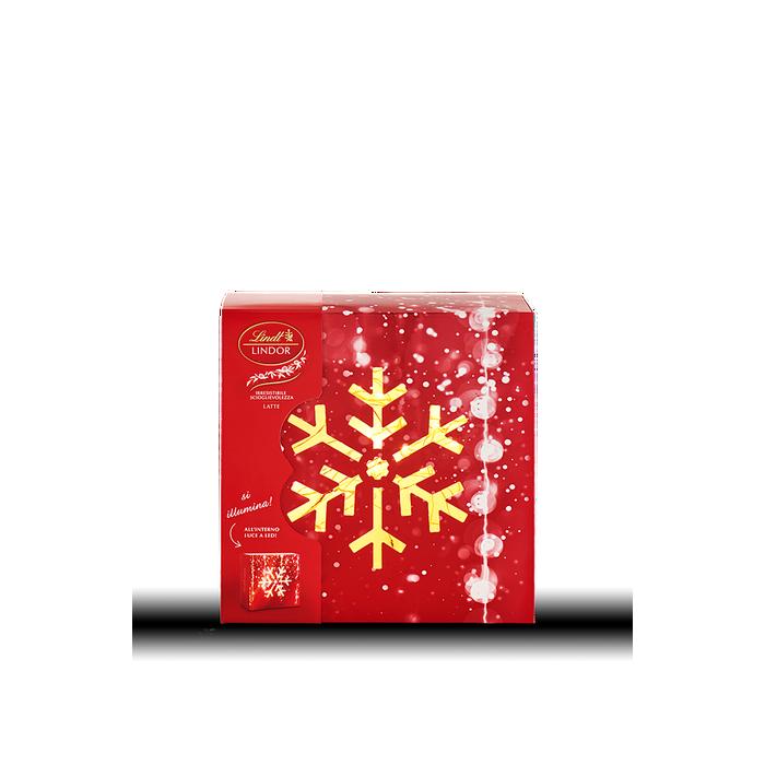 Lindt - Scatola Natale Lindor Led Latte - 200g