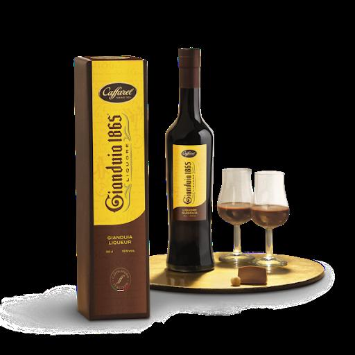 CAFFAREL -LIQUORE CIOCCOLATO GIANDUIA - CL.50