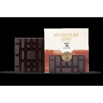 Leone - SFUMATURE Fondente 80% DECISO - 75g