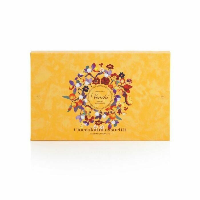 Venchi - Cioccolatini assortiti scatola Autunno - 250g