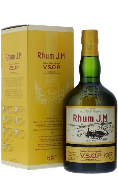 RHUM  J.M. VIEUX AGRICOLE V.S.O.P. 70cl (ASTUCCIATO)
