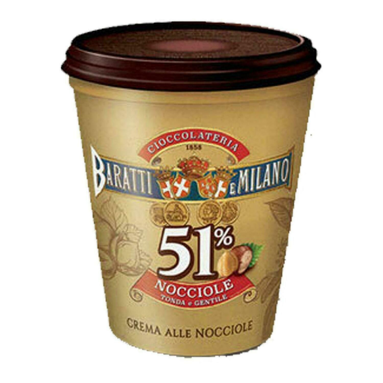 BARATTI & MILANO - CREMA SPALMABILE ALLE NOCCIOLE 51%