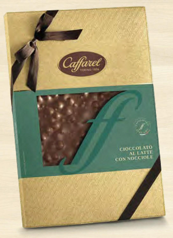 Caffarel - Cioccolato Latte e Nocciole Intere - 750g
