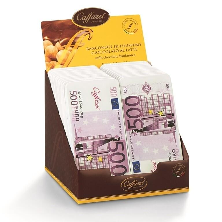 Caffarel - Banconota 500 Euro Latte - 100g