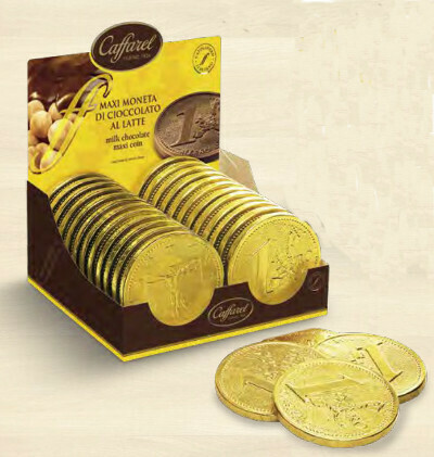 Caffarel - Maxi Moneta 1 Euro - 100g