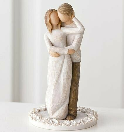 WILLOW TREE - TOGETHER CAKE TOPPER