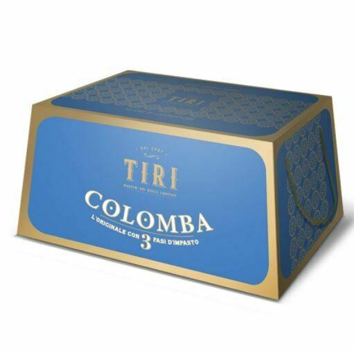 TIRI - COLOMBA CAFFE' E CIOCCOLATO BIANCO - 1 KG