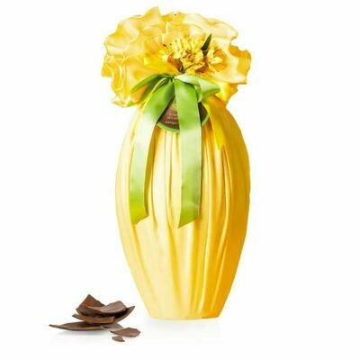 Venchi - Uovo di cioccolato al latte in tovaglia gialla - 1kg