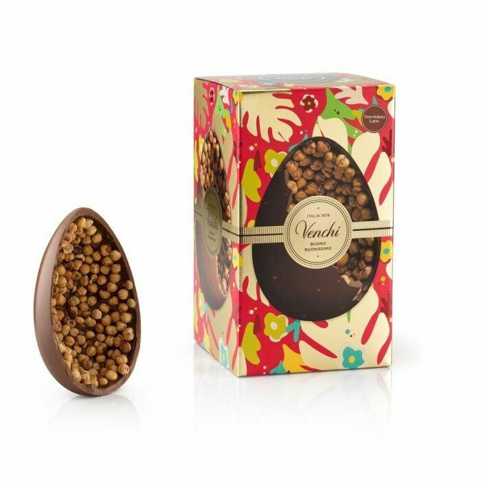Venchi - Uovo di cioccolato al Latte Gran Nocciolato Piemonte - 1kg