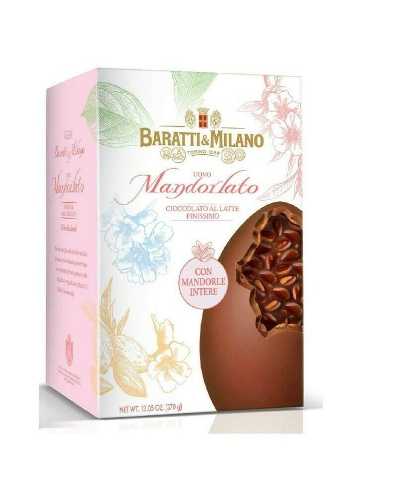 Baratti&Milano - Uovo Mandorlato - Latte - 370g