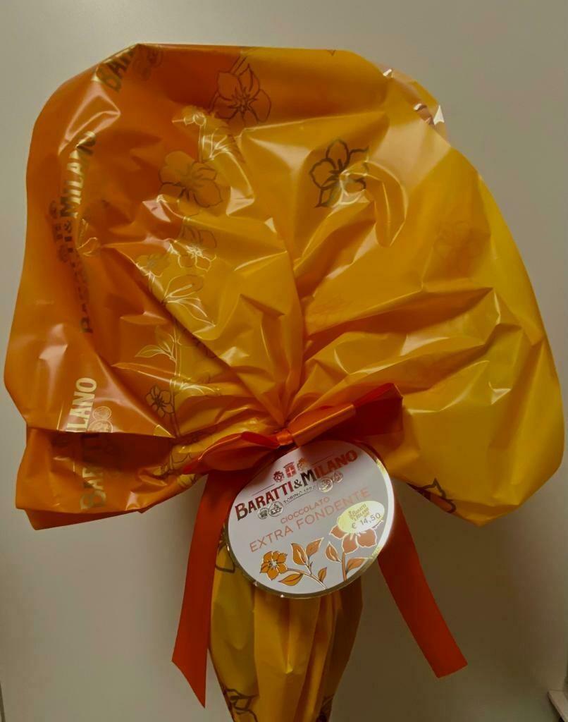 Baratti&Milano - Uovo cioccolato extra Fondente - 210g