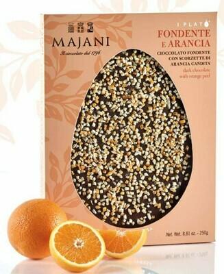 Majani  Plato' - Cioccolato Fondente e Arancia - 250g