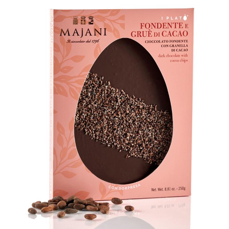 Majani Plato' -  Fondente e Gruè di Cacao - 250g
