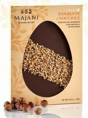 Majani  Plato' - Cioccolato Fondente e Nocciole - 250g