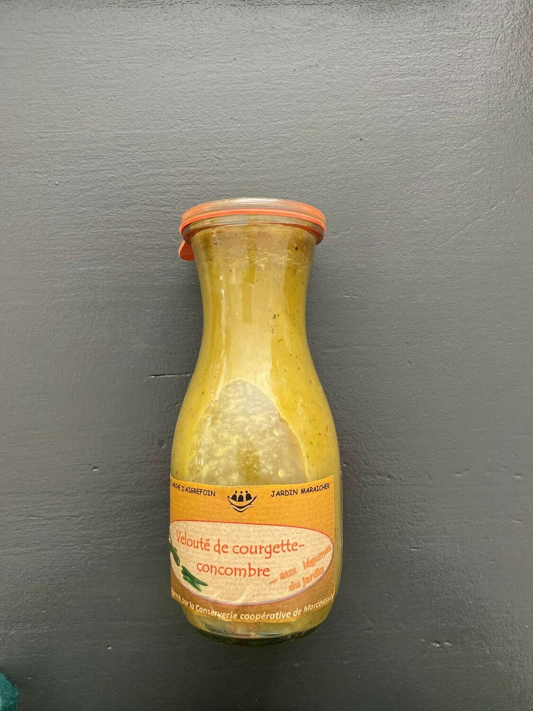 Velouté courgette/concombre (75cl)
