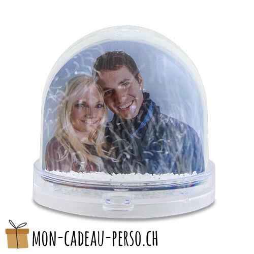 Boule à neige personnalisée - photo