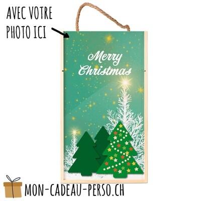 Boîte cadeau personnalisée pour 2 bouteilles - Sublimation - 350x200x105mm