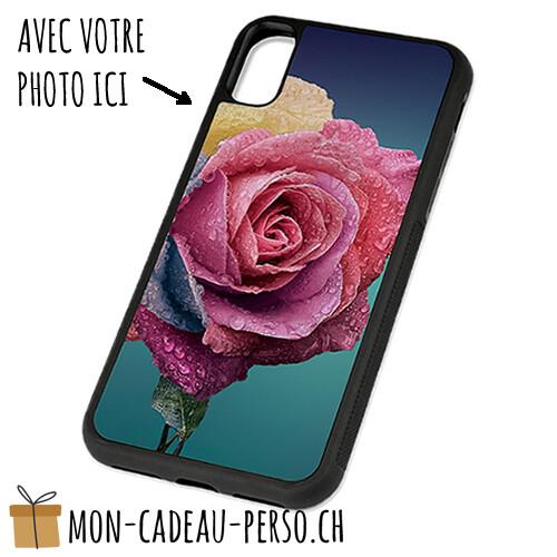 Coque de Smartphone personnalisée - Sublimation - NOIR - iPhone XS Max