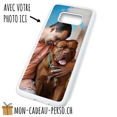 Coque de Smartphone personnalisée - Sublimation - BLANC - Galaxy S8