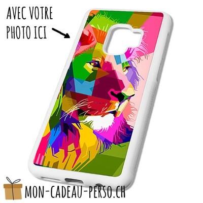 Coque de Smartphone personnalisée - Sublimation - BLANC - Galaxy S9