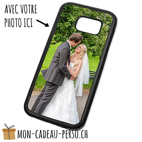 Coque de Smartphone personnalisée - Sublimation - Noir - Galaxy S7
