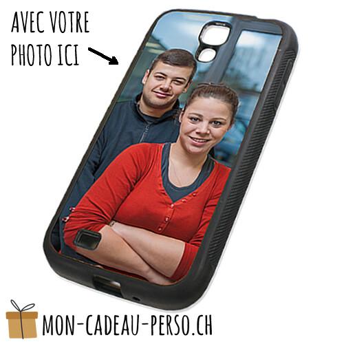Coque de Smartphone personnalisée - Sublimation - Noir - Galaxy S4
