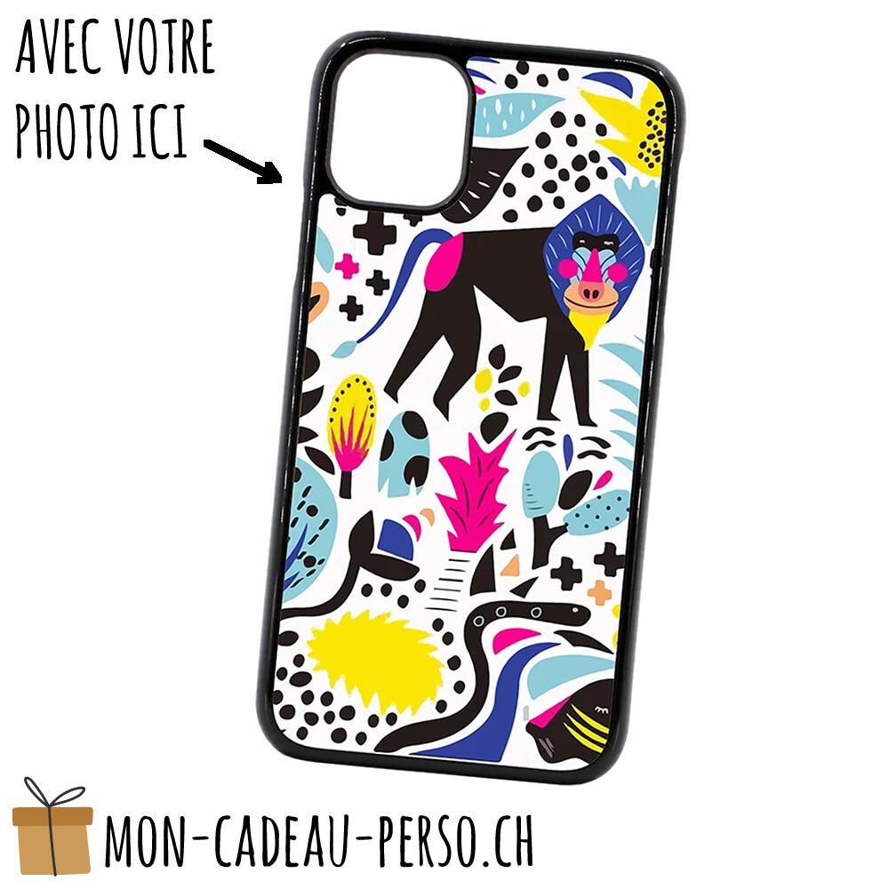 """Coque de Smartphone personnalisée - Sublimation - NOIR - iPhone 12 / 12 Pro 6.1"""""""