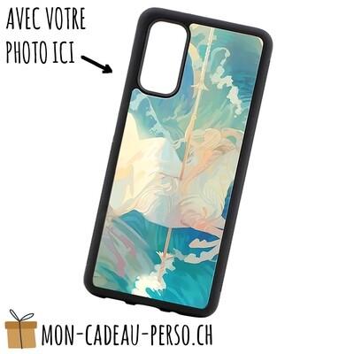 Coque de Smartphone personnalisée - Sublimation - NOIR - Galaxy S20