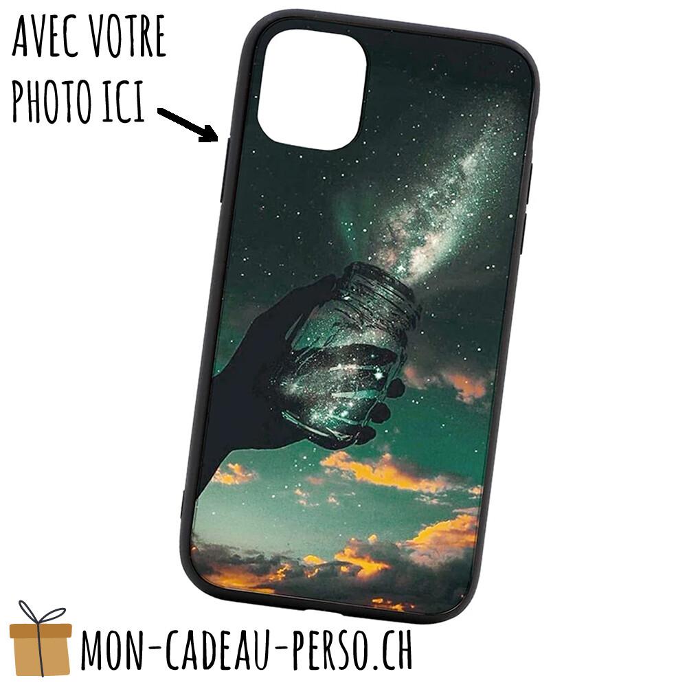 """Coque de Smartphone personnalisée - Sublimation - NOIR - iPhone 12 Mini 5.4"""""""