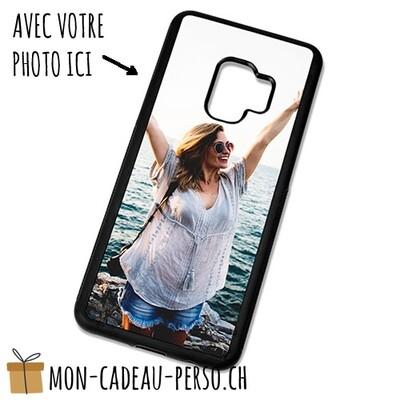 Coque de Smartphone personnalisée - Sublimation - NOIR - Galaxy S9 Plus