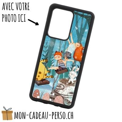 Coque de Smartphone personnalisée - Sublimation - NOIR - Galaxy S20 Ultra