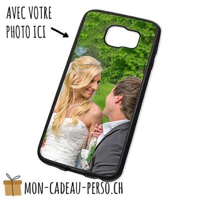 Coque de Smartphone personnalisée - Sublimation - Noir - Galaxy S6