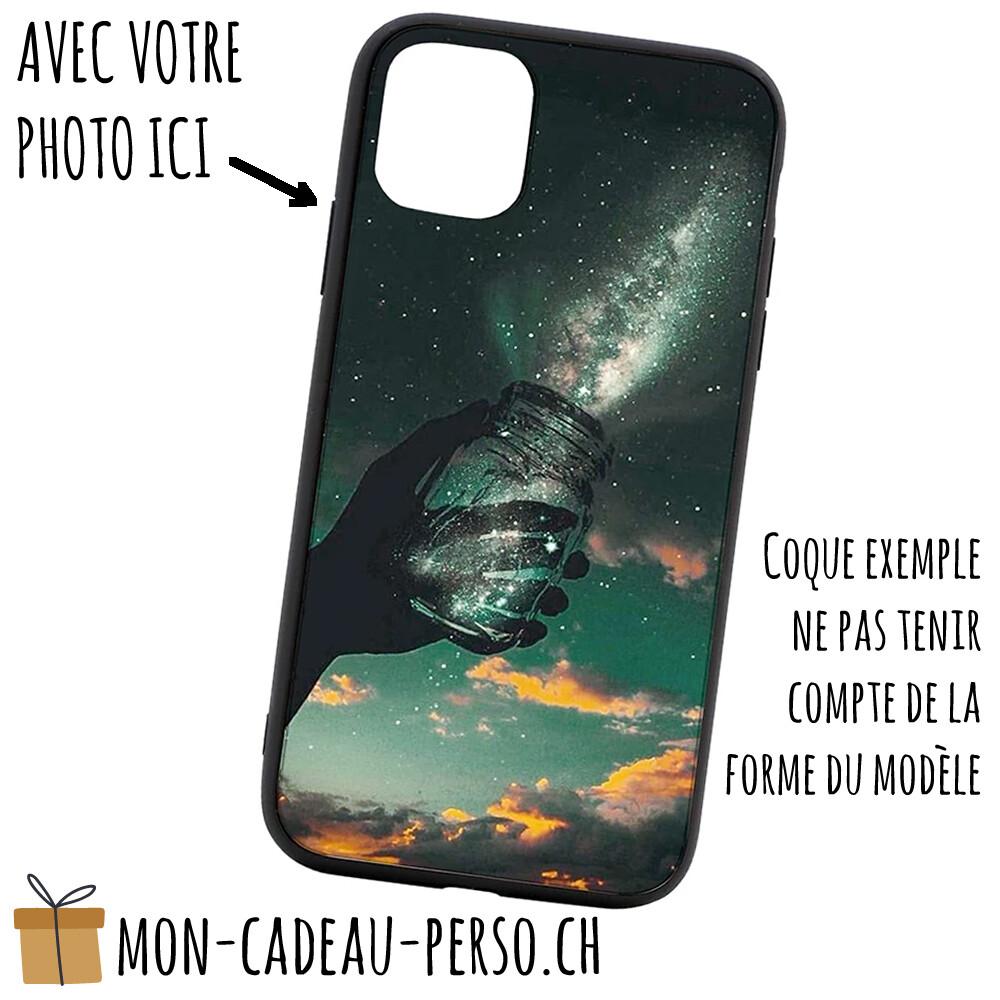 Coque de Smartphone personnalisée - Sublimation - NOIR - Galaxy A60