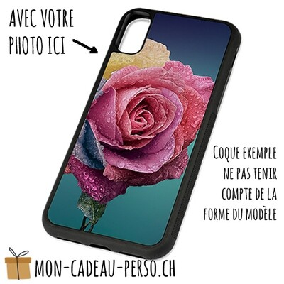Coque de Smartphone personnalisée - Sublimation - NOIR - Huawei P10 Plus