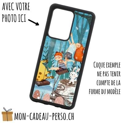 Coque de Smartphone personnalisée - Sublimation - NOIR - Huawei P30