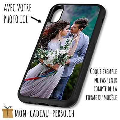 Coque de Smartphone personnalisée - Sublimation - NOIR - Huawei P10 Lite