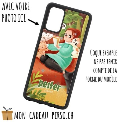 Coque de Smartphone personnalisée - Sublimation - NOIR - Huawei P40 Pro