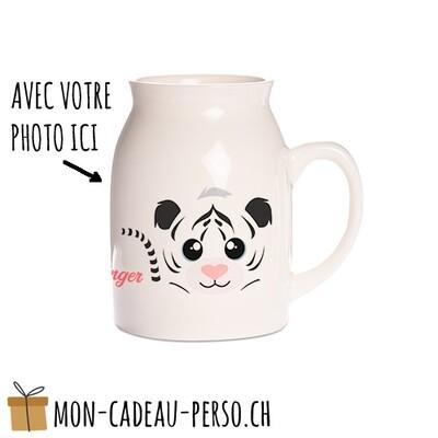 Pôt à lait personnalisé - Sublimation - Petit 320ml - Impression couleur