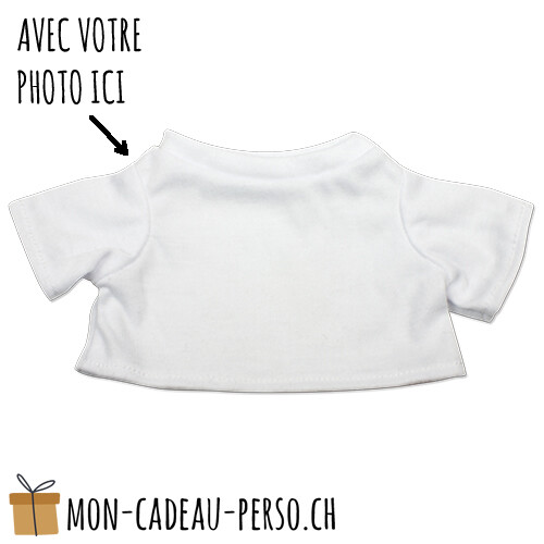 Peluche - Impression par sublimation - T-Shirt de rechange Taille M