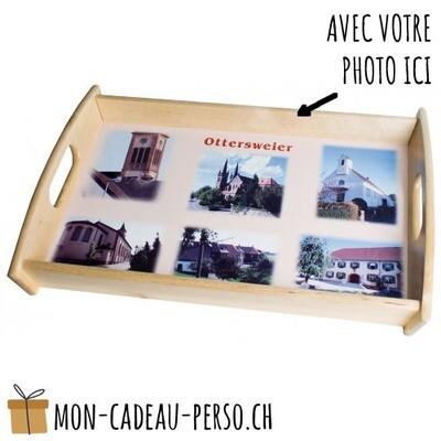 Plateau en bois personnalisé - Sublimation - Petit - 310x195mm