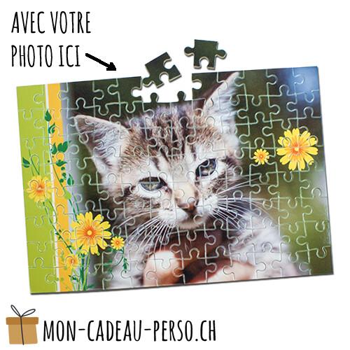Puzzle personnalisé - Sublimation - 190x280mm -  96 pièces