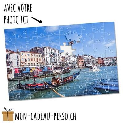 Puzzle personnalisé - Sublimation - 190x280mm -  70 pièces