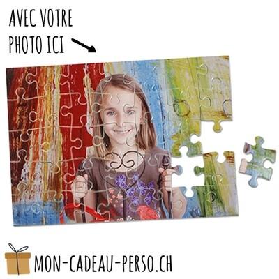 Puzzle personnalisé - Sublimation - 190x280mm -  35 pièces