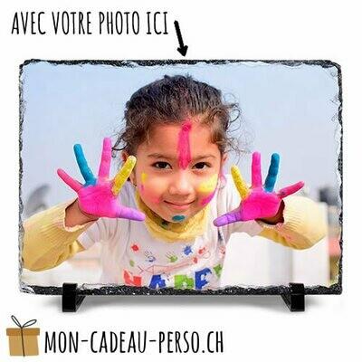 Ardoise photo personnalisée - Sublimation - 20x30 - Supports inclus