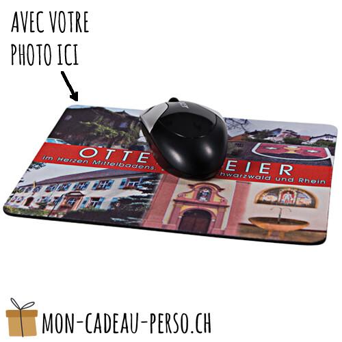 Tapis de souris personnalisé - 27x19cm - 5mm
